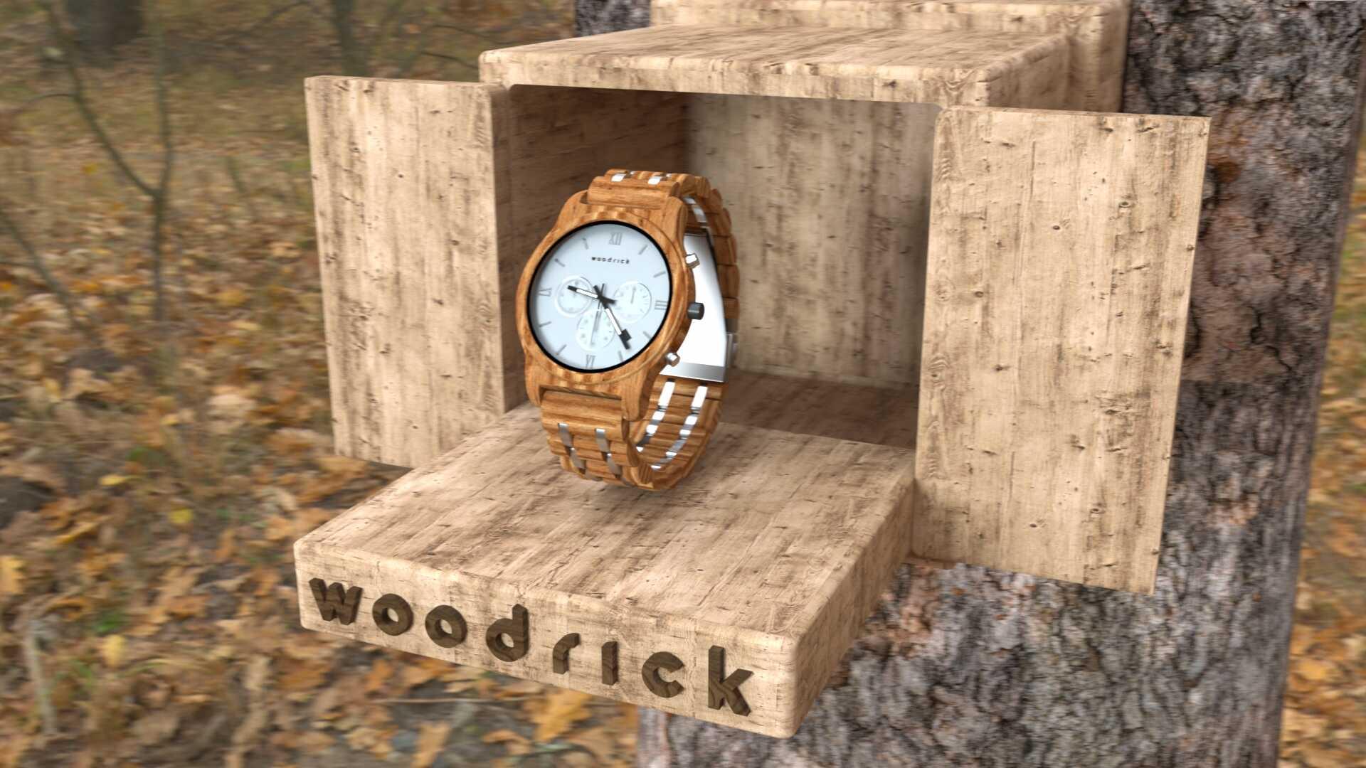 Woodrick – Motion Graphics Spot