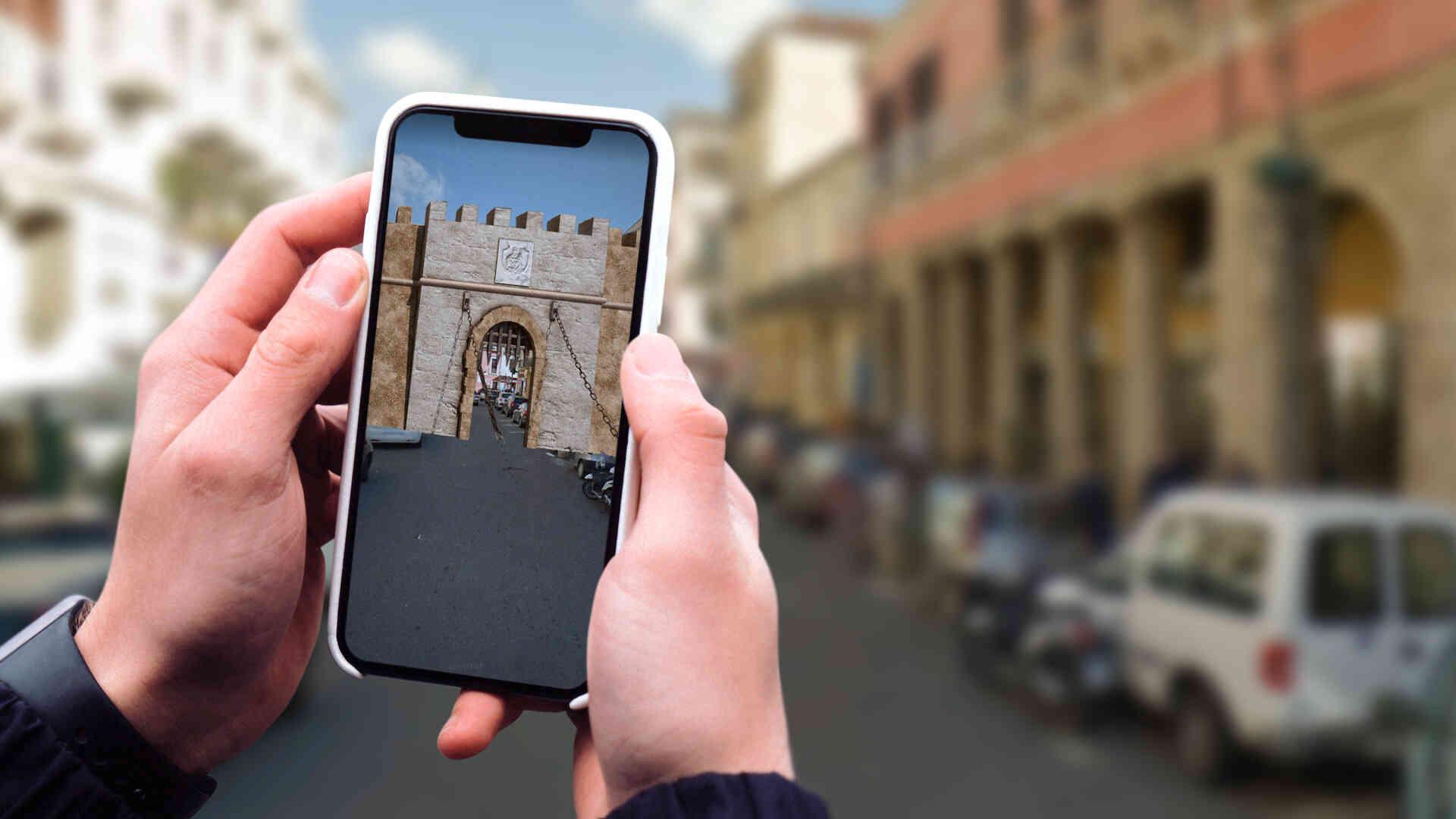 Itinerari association, augmented reality app